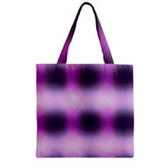 New 3 Zipper Grocery Tote Bag by timelessartoncanvas