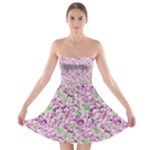 flower - Strapless Bra Top Dress