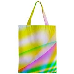 New 4 Zipper Classic Tote Bag by timelessartoncanvas