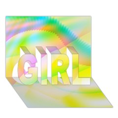 New 6 Girl 3d Greeting Card (7x5)  by timelessartoncanvas
