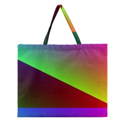 New 8 Zipper Large Tote Bag by timelessartoncanvas