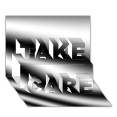New 15 Take Care 3d Greeting Card (7x5)  by timelessartoncanvas