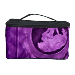 Vintage Purple Lady Cameo Cosmetic Storage Case by BrightVibesDesign