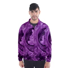 Vintage Purple Lady Cameo Wind Breaker (men) by BrightVibesDesign