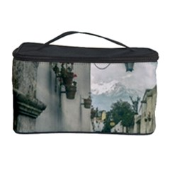 Colonial Street Of Arequipa City Peru Cosmetic Storage Cases by dflcprints