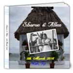 sharon and allen - 8x8 Deluxe Photo Book (20 pages)