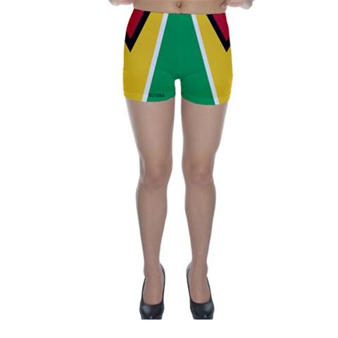 Skinny Shorts Front
