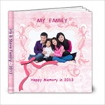 Iris & Steve Family 2013 - 6x6 Photo Book (20 pages)