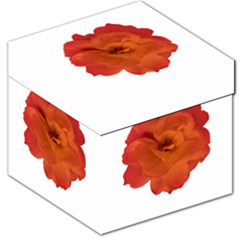 Red Rose Photo Storage Stool 12   by dflcprints