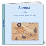 samoa - 12x12 Photo Book (20 pages)