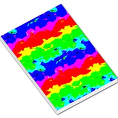 Colorful Digital Abstract  Large Memo Pads by dflcprints