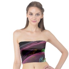 Creation Of The Rainbow Galaxy, Abstract Tube Top by DianeClancy