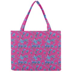 Floral Collage Revival Mini Tote Bag by dflcprints