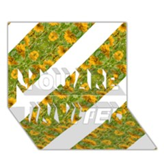 Indian Floral Pattern Stripes You Are Invited 3d Greeting Card (7x5)  by dflcprints