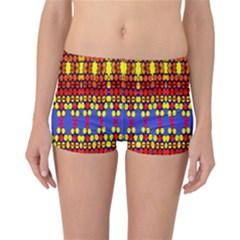 Hexagon Pilot Reversible Boyleg Bikini Bottoms by MRTACPANS