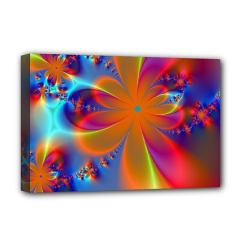 Bright Deluxe Canvas 18  x 12   by Delasel