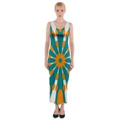 Tangerinerina Teliana Fitted Maxi Dress by CircusValleyMall