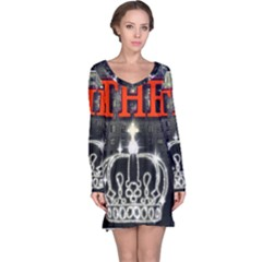 The King Long Sleeve Nightdress by SugaPlumsEmporium