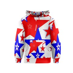 The Patriot 2 Kids  Pullover Hoodie by SugaPlumsEmporium