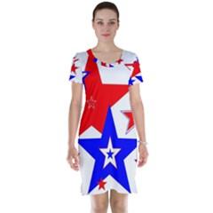 The Patriot 2 Short Sleeve Nightdress by SugaPlumsEmporium