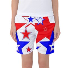 The Patriot 2 Women s Basketball Shorts by SugaPlumsEmporium