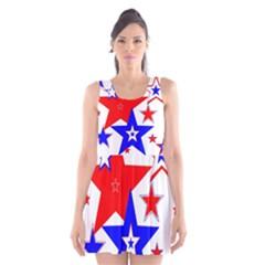 The Patriot 2 Scoop Neck Skater Dress by SugaPlumsEmporium