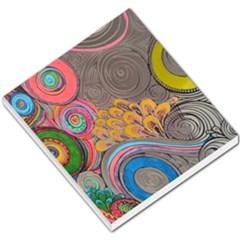 Rainbow Passion Small Memo Pads by SugaPlumsEmporium
