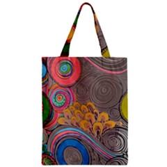 Rainbow Passion Classic Tote Bag by SugaPlumsEmporium