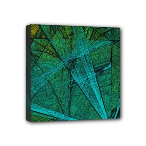 Weathered Mini Canvas 4  X 4  by SugaPlumsEmporium