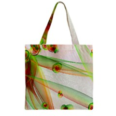 The Wedding Veil Series Grocery Tote Bag by SugaPlumsEmporium