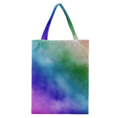 Rainbow Watercolor Classic Tote Bag by StuffOrSomething