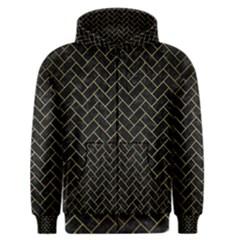 BRK2 BK MARBLE GOLD Men s Zipper Hoodie by trendistuff