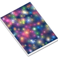 Starlight Shiny Glitter Stars Large Memo Pads by yoursparklingshop