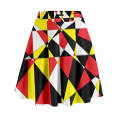 Shattered Life With Rays Of Hope High Waist Skirt by StuffOrSomething