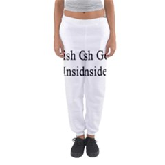 English Genius Inside Women s Jogger Sweatpants by Supernova23