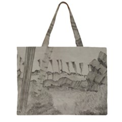 Peace In The Valley  Zipper Large Tote Bag by SugaPlumsEmporium