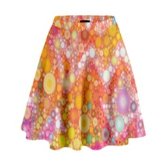 Sunshine Bubbles High Waist Skirt by KirstenStar