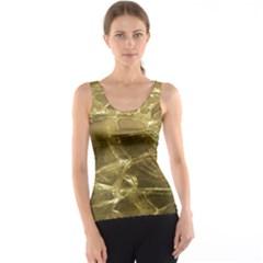Gold Bar Golden Chic Festive Sparkling Gold  Tank Top by yoursparklingshop