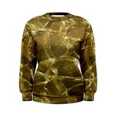 Gold Bar Golden Chic Festive Sparkling Gold  Women s Sweatshirt by yoursparklingshop