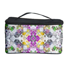 Geometric Boho Chic Cosmetic Storage Cases by dflcprints