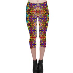 Psychic Auction Capri Leggings  by MRTACPANS