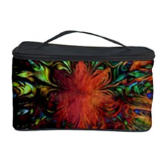 Boho Bohemian Hippie Floral Abstract Cosmetic Storage Cases by CrypticFragmentsDesign