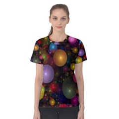 Billions Of Bubbles Women s Cotton Tee by WolfepawFractals