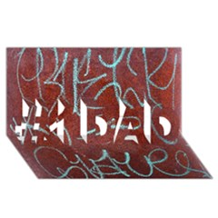 Urban Graffiti Rust Grunge Texture Background #1 Dad 3d Greeting Card (8x4)  by CrypticFragmentsDesign