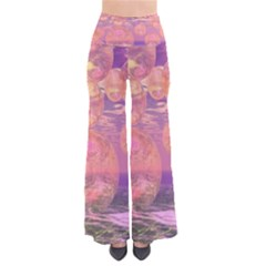 Glorious Skies, Abstract Pink And Yellow Dream Pants by DianeClancy