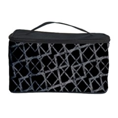 Geometric Grunge Pattern Cosmetic Storage Cases by dflcprints