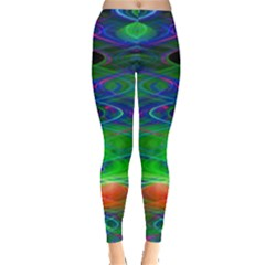Neon Night Dance Party Leggings  by CrypticFragmentsDesign
