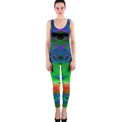 Neon Night Dance Party Onepiece Catsuit by CrypticFragmentsDesign