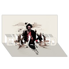 Leatherface 1974 ENGAGED 3D Greeting Card (8x4)