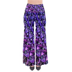 Blue purple Shattered Glass Pants by KirstenStar